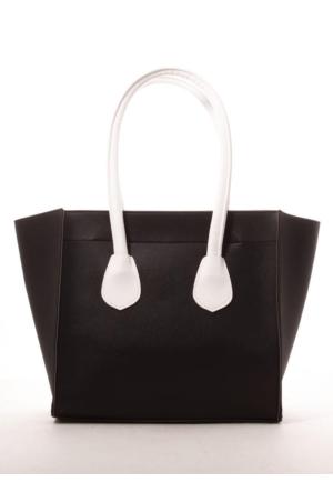 Gio&Mi Siyah Beyaz Omuz Çantası Nhr-Sln