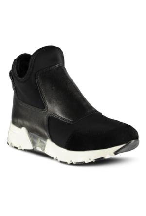 Marjin Salsen Spor Ayakkabı Siyah