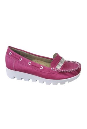Berk Bayan Fuşya Loafer Ayakkabı 6000184