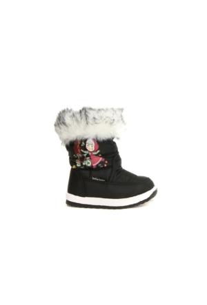 Akinalbella 1060.031-B Kız Bebe Çocuk Kar Kışlık Bot Ayakkabı