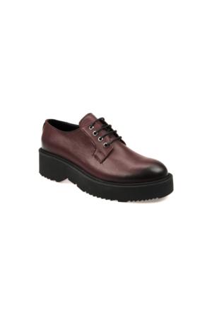 Ziya Kadın Ayakkabı 6376 4021 Bordo