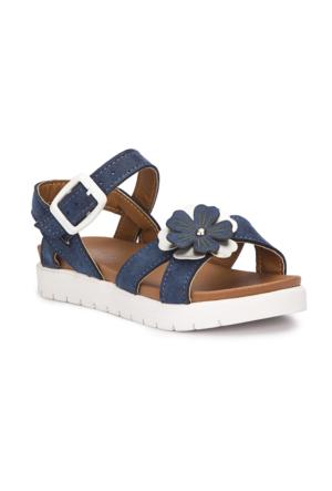 Polaris 71.509112.P Lacivert Kız Çocuk Sandalet