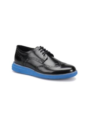 Jj-Stiller 61123-1 M 6693 Siyah Lacivert Erkek Modern Ayakkabı