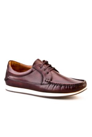 Cabani Main Tekne Günlük Erkek Ayakkabı Kahve Sanetta Deri