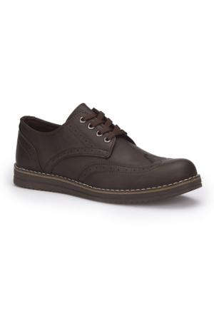 Polaris 71.353617.M Kahverengi Erkek Ayakkabı