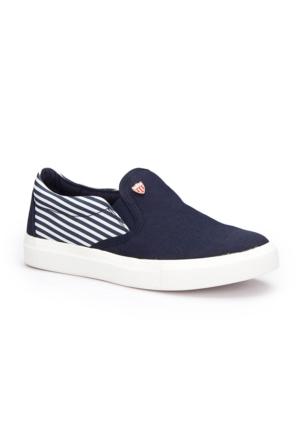 U.S. Polo Assn. Somme Lacivert Kadın Sneaker Ayakkabı