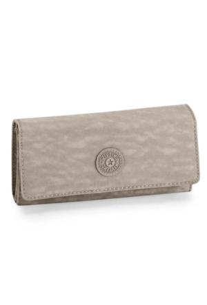Kipling Brownie Basic Warm Grey Cüzdan K13865-828
