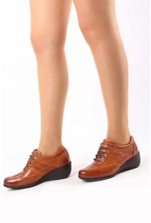 Gön Tabaya Taba Rugan Deri Kadın Ayakkabı 22370