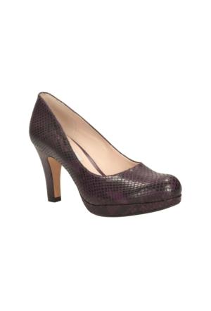 Clarks Crisp Kendra Kadın Ayakkabı Mor