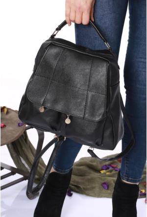 Avb Accessories Siyah Kadın Sırt Çantası-2502