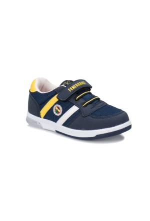 Kinetix Upton FB Lacivert Sarı Beyaz Erkek Çocuk Sneaker Ayakkabı