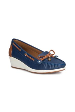 Polaris 71.155559.Z Lacivert Kadın Ayakkabı