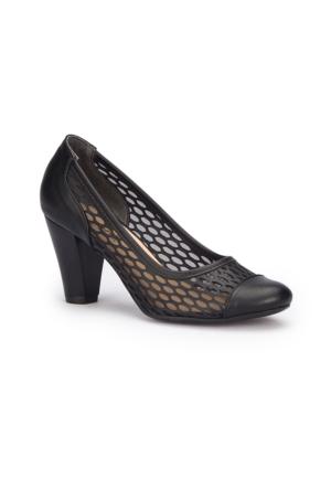 Polaris 71.308349.Z Siyah Kadın Ayakkabı