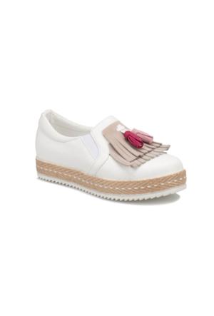 Seventeen SVA280 Beyaz Kız Çocuk Ayakkabı