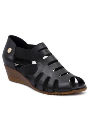Mammamia D17Ys1325 Siyah Terlik - Sandalet