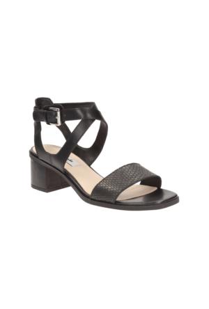 Clarks Ivangelie Ray Kadın Sandalet Siyah
