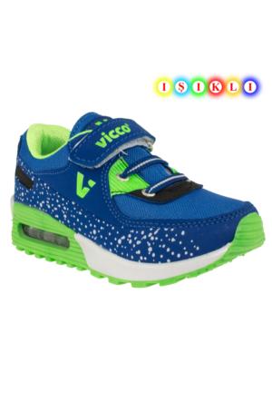 Vicco 937.Z.257 Işikli Çocuk Mavi Çocuk Spor Ayakkabı