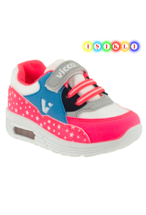 Vicco 313.Z.255 Çocuk Fuşya Çocuk Spor Ayakkabı