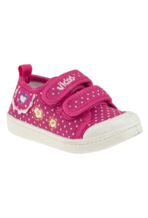 Vicco 205.U.211 Keten Çocuk Fuşya Çocuk Ayakkabı
