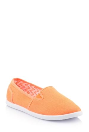 DeFacto Kız Çocuk Kanvas Ayakkabı Mercan