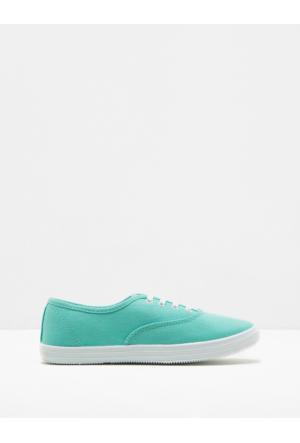 Koton Kadın Bağcıklı Ayakkabı Yeşil