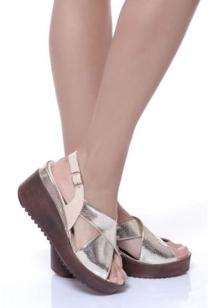 Shoes Time 17Y 218 Kadın Sandalet