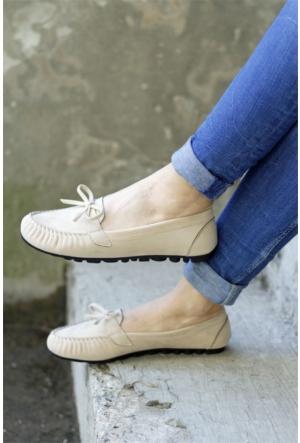 İnce Topuk Loafer Ayakkabı 7YAZA0072511