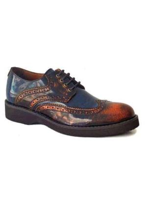 Freefoot 1384 Deri Erkek Ayakkabı Taba