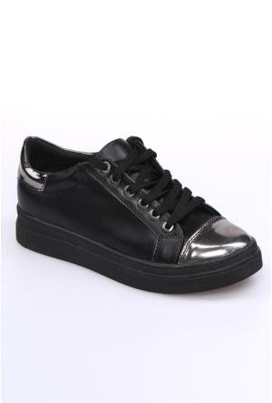 Zerrin Shoe Siyah Kadın Spor Ayakkabı-201460