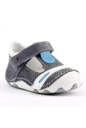 Teo Bebe 3300 %100 Deri Ortopedik Cırtlı Erkek Çocuk Ayakkabı