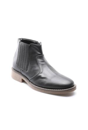 Down Town 22945 M 6685 Siyah Erkek Klasik Ayakkabı