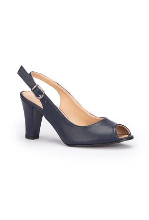 Polaris 71.309791.Z Lacivert Kadın Ayakkabı