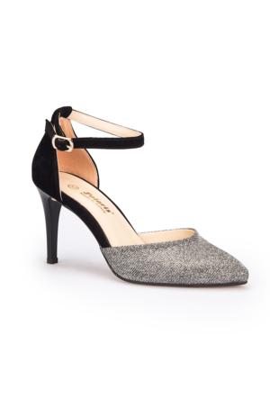 Polaris 71.309816.Z Siyah Kadın Ayakkabı