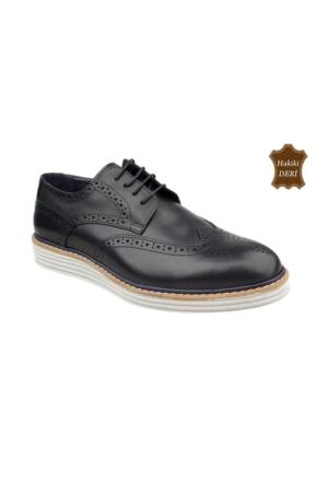 Wolfland 201 Y 32 Hakiki Deri Klasik Ayakkabı