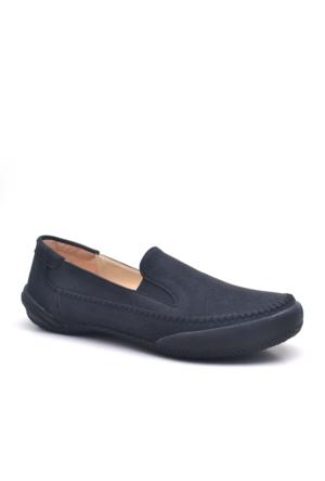 Baldano Ortopedik Büyük Numara Siyah Kadın Günlük Ayakkabı