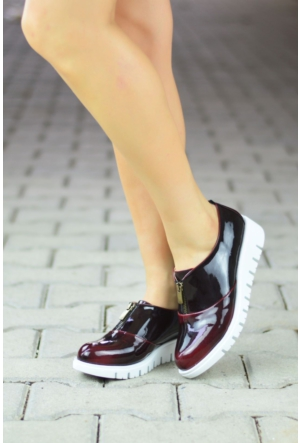 Peri Kızı Oscar Ayakkabı Bordo