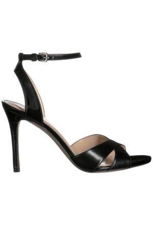Nine West Nwmooch Siyah Gerçek Deri Sandalet