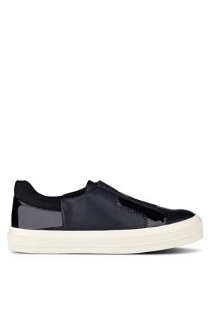Nine West Nwobasi3 Siyah Multi Suni Deri Ayakkabı