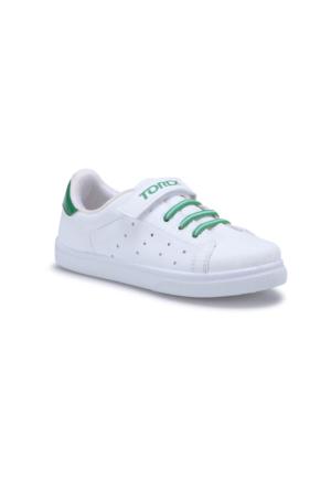 Torex Impact Beyaz Yeşil Erkek Çocuk Sneaker Ayakkabı