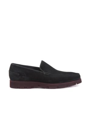 Mocassini Erkek Siyah Nubuk Ayakkabı 151MCE303 3453