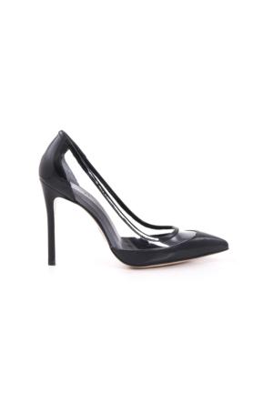 Rouge Kadın Siyah Rugan Ayakkabı 171RGK114 4741