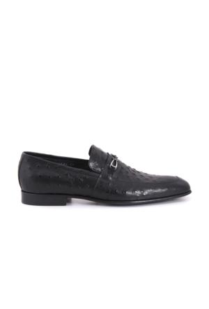Mocassini Erkek Siyah Ayakkabı 171MCE303 4624