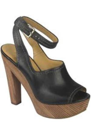 Nine West 0111 Dolgu Topuk Ayakkabı
