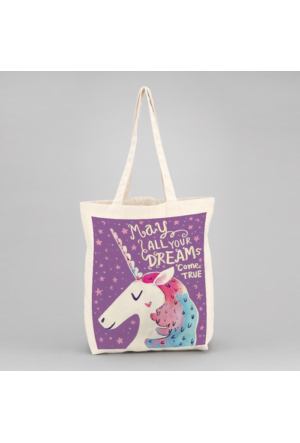 İf Dizayn Unicorn Tasarım Bez Çanta