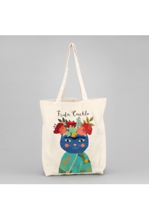 İf Dizayn Frida Cathlo Tasarım Bez Çanta