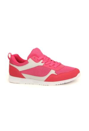 Scookrs 067 Günlük Yürüyüş Koşu Fileli Bayan Spor Ayakkabı