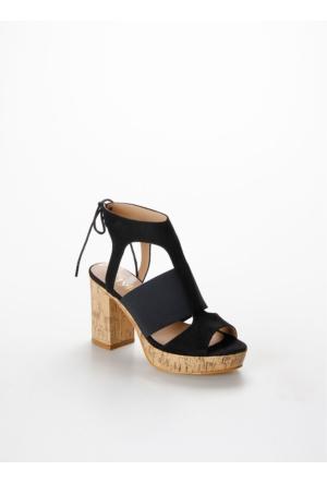 Tyler Günlük Kadın Sandalet 1056Tylss.Sıy