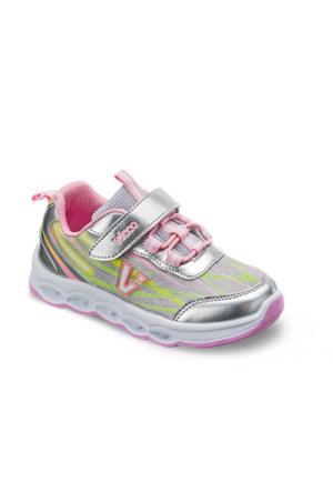 Vicco Patik Işıklı Ayakkabı Gümüş