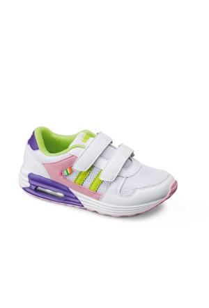 Vicco Çift Cırtlı Spor Ayakkabı Pembe