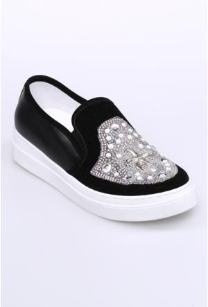 Celens Siyah Kadın Ayakkabı-303